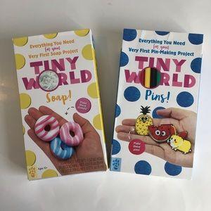 $12 bundle item💐 NWT 2 Tiny World craft sets